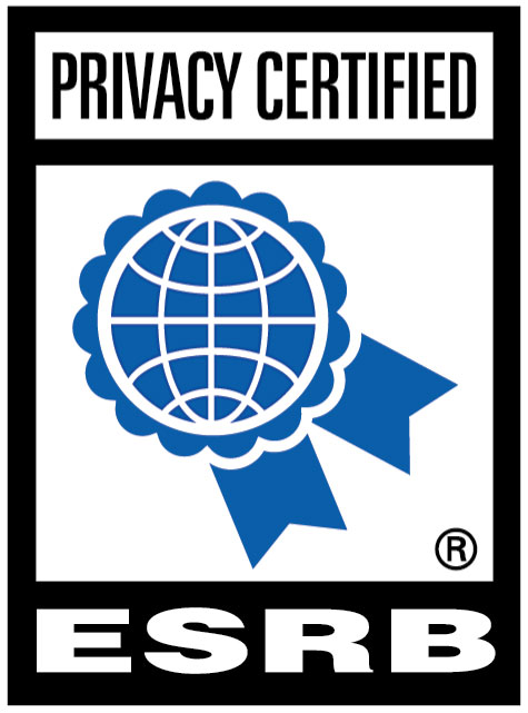 Privacy certified ESRB.