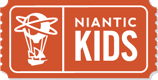 Niantic Kids Parent Portal logo.